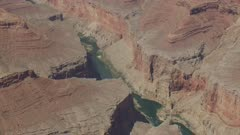 8k aerial Grand Canyon Colorado River