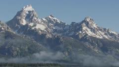 8k Grand Teton from Jackson Hole
