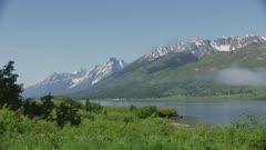 8k Grand Teton National Park lake