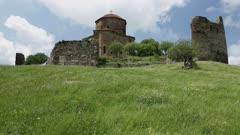 Georgian Orthodox Monastery Jvari near Mtskheta  Eastern Georgia.
