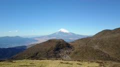 Slow Flight Towards Mt Fuji