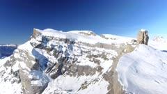 Exposed Mountain and Ski Restarant
