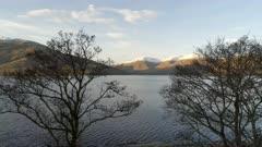 Shoreline of a Scottish Loch Near Fort William