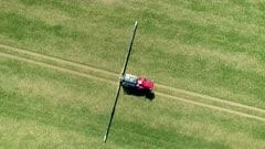 Farm Being Sprayed with Glyphosate Herbicide