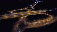Motorway Timelapse at Rush Hour