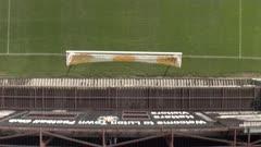 Football Pitch and Goalposts