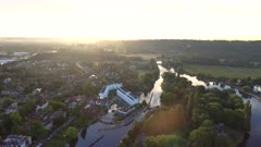 Marlow City at Sunrise