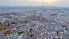 Seville City From the Air