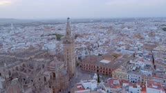 Seville Cathedral from the Air