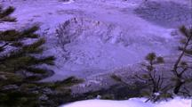 Thermal Activity, Bubbling Mud Pot, Mammoth Hot Spring