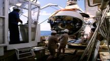 Titanic Excursion Preparation Stock Footage