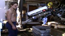 Titanic Excursion Preparations - Mir Pilot Watches Hydraulic Arm Test