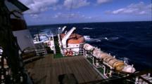 Titanic Excursion Preparations - Lifeboat On Deck Of Keldysh