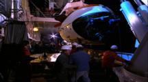 Mir Sub Recovery - Brought To Deck Hangar