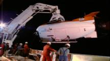 Mir 2 Recovery - Coming Towards Deck Hangar