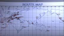Routemap - Keldysh Titanic Expedition