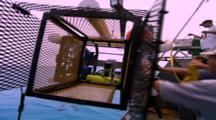 Oceanic Technology -  Flying Shark Cage Camera Set Up