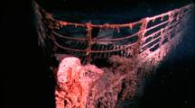 Titanic Wreck - Bow And Railing