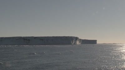Massive Icebergs in the Ross sea, Antarctica