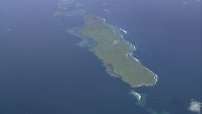 View of island below