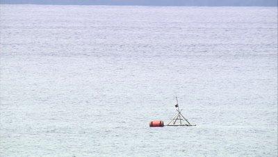 Circling Fish Aggregation Device near coast