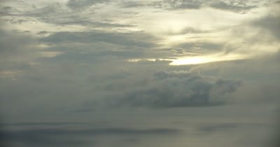 Tracking clouds over the ocean