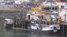Carnival Rides During Kodiak Crab Festival