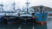 Trawlers Docked in Harbor, Alaska Trawl Fisheries - Dutch Harbor, Alaska, Unalaska