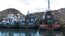 Trawlers Docked in Harbor, Alaska Trawl Fisheries - Dutch Harbor, Alaska, Unalaska