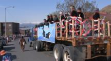 Truck In Parade At Kodiak Crab Festival