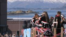 Singers In Parade During Kodiak Crab Festival