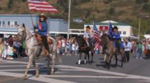 Parade During Kodiak Crab Festival