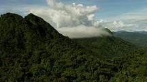 Densely Forested Mountains Of Central American Continental Divide