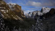 Time Lapse Yosemite Granite Landscape