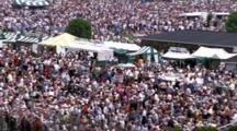 Large Crowd Of Spectators At Churchhill Downs