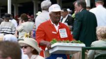 Vendor Sell Mint Juleps In Stands At Churchhill Downs