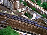 Aerial Passenger Trains In London
