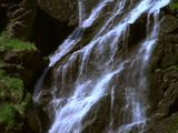 Waterfall, Cascading Down Cliff