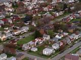 Aerial Pennsylvania Town