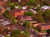 Aerial Over Residential Area, Row Houses