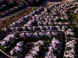Aerial Of Southern California Neighborhood