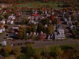 Aerial Rhinebeck New York, Neighborhoods