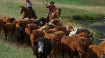 Cowboys With Herd