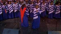 Gospel Choir, Singing And Clapping