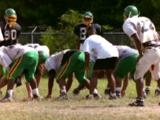 Men Practice Football