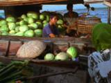 Vendors Meet At Traditional Floating Market