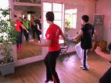 Salsa Dance Class Rehearsal
