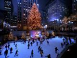 Ice Skating In New York City At Christmas
