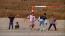 Young Men Play Soccer, Morocco