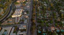 Aerial Over Ventura, Studio City